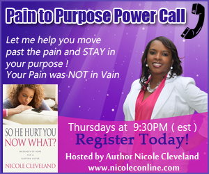 Pain to Purpose POWER Call with Nicole Cleveland